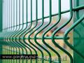 Gard metalic sudat vopsit. Plasa pentru gard. Stilpi metalici. Сварной забор. Се